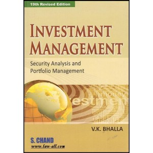Dr. V. K. Bhalla's Investment Management - Security Analysis and Portfolio Management by S. Chand Publishing