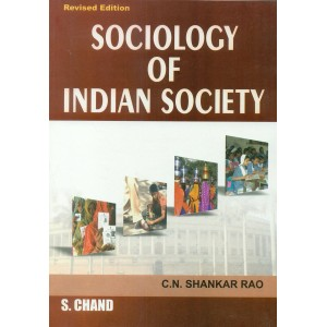 S. Chand's Sociology of Indian Society For BSL | LL.B by  C. N. Shankar Rao
