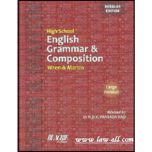 S. Chand's High School English Grammar & Composition by Wren & Martin [Large Format]