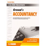 Grewal's Accountancy for CA Foundation June 2018 Exam [New Syllabus] by Dr. MP Gupta & Dr. B. M. Agarwal | S. Chand Publishing