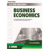 S. Chand's Business Economics for CA Foundation June 2018 Exam [New Syllabus] by S. K. Agarwal | CA CPT