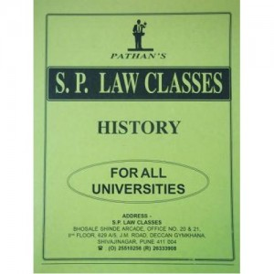 S. P. Classes Notes on History of India - I for Law students by Prof. A. U. Pathan Sir