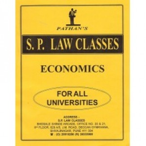 Pathan's Economics Notes For B.S.L by S.P. Classes
