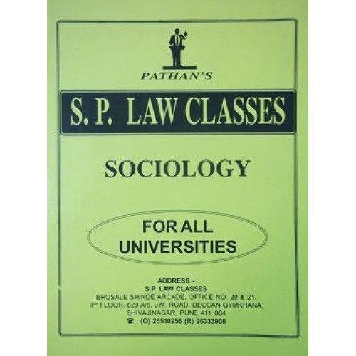 Pathan's Sociology Notes for BSL & LL.B