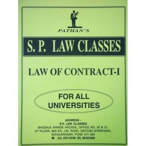 Prof. A. U. Pathan Sir's Law of Contract - I Notes for BSL & LL.B Students by S. P. Law Classes