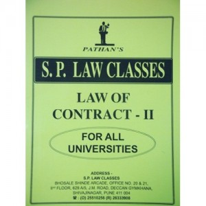 Pathan's Law of Contract - II Notes for BSL | LL.B