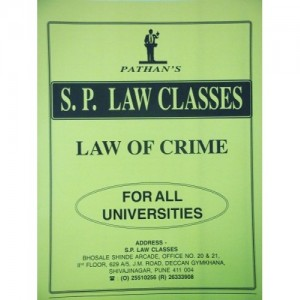 Prof. A. U. Pathan Sir's Law of Crime (IPC)  Indian Penal Code Notes for Law Students by S. P. Law Classes