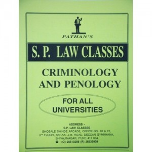 S. P. Law Class's Notes on Criminology and Penology for Law Students by Prof. A. U. Pathan Sir