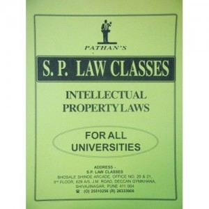 S. P. Law Class's Notes on Intellectual Property Rights Law (IPR)  for BSL & LL.B Law Students by Prof. A. U. Pathan Sir