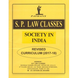 S. P. Law Class's Society in India for BA. LL.B (New Syllabus) by Prof. A. U. Pathan