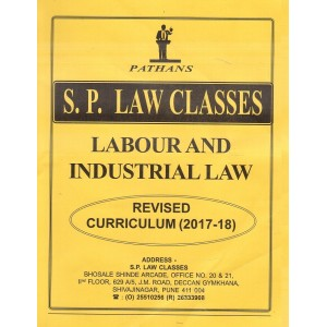 Pathan's Labour and Industrial Law for BA. LL.B [New Syllabus] by Prof. A. U. Pathan | S. P. Law Classes Notes