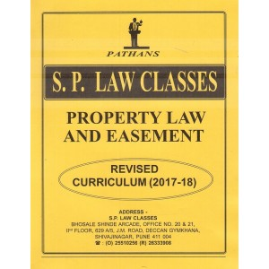Pathan's Property Law & Easement for BA. LL.B [New Syllabus] by Prof. A. U. Pathan | S. P. Law Classes