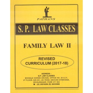 S. P. Law Classes Family Law II Notes for BA. LL.B| LL.B by Prof. A. U. Pathan [New Syllabus]