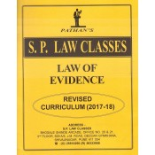 S. P. Law Class's Law of Evidence for BA.LL.B & LL.B [New Syllabus] by Prof. A. U. Pathan Sir