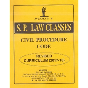 Prof. A. U. Pathan Sir's Code of Civil Procedure (CPC),1973 Notes for BA. LL.B & LL.B (New Syllabus) by S. P. Law Classes