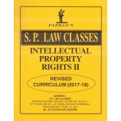 S. P. Law Class's Notes on Intellectual Property Rights II (IPR 2) for BA.LL.B & LL.B (New Syllabus) by Prof. A. U. Pathan Sir