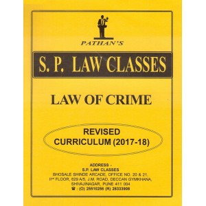 Prof. A. U. Pathan Sir's Law of Crime (IPC) for BA. LL.B & LL.B [New Syllabus] by S. P. Law Classes | Indian Penal Code