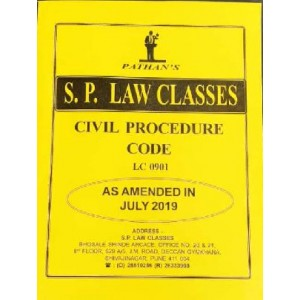 Prof. A. U. Pathan Sir's Code of Civil Procedure (CPC),1973 Notes for BA. LL.B & LL.B (July 2019 Syllabus) by S. P. Law Classes