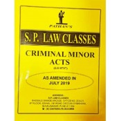 Pathan's Criminal Minor Acts for BA. LL.B [July 2019 Syllabus] by Prof. A. U. Pathan | S. P. Law Classes