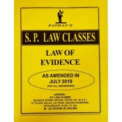 S. P. Law Class's Law of Evidence for BA.LL.B & LL.B [July 2019 New Syllabus] by Prof. A. U. Pathan Sir