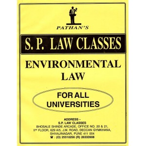 S. P. Classes Notes on Environmental Law for BSl & LL.B By Prof. A. U. Pathan
