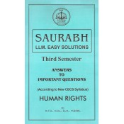 Human Rights for LL.M [Sem III] by Saurabh Law Notes