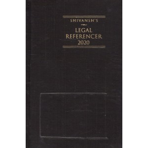 Shivansh Publication's Legal Referencer Cum Advocate's Diary 2020 (Standard Size) by K. M. Sharma