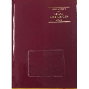 Shivansh Publication's Legal Referencer Cum Advocate's Diary 2021 (Standard Size) by K. M. Sharma