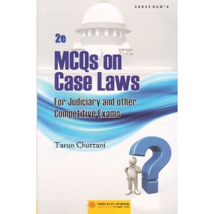 Shreeram's MCQs on Case Laws for Judiciary & Other Competitive Exams by Tarun Chuttani | JMFC