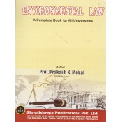 Shrutishreya Publication's Environmental Law for BA. LL.B & LL.B By Prof. Prakash K. Mokal