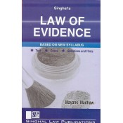 Singhal's Law of Evidence for 3 and 5 Year LL.B by Mayank Madhaw | Dukki Law Notes