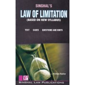 Singhal's Law of Limitation for LL.B (New Syllabus) by Krishan Keshav| Dukki Law Notes