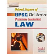 Singhal's Soled Papers of UPSC Civil Service (Preliminary Examination) Law