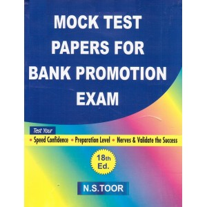 Toor's Mock Test Papers For Bank Promotion Exam by Skylark Publications