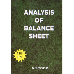 Toor's Analysis Of Balance Sheet by N. S. Toor | Skylark Publication