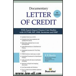 Snow White Publication's Documentary Letter of Credits With Text of UCP 600 - E UCP by R. R. Beedu