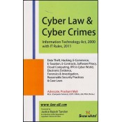 Snow White Publication's Cyber Law & Cyber Crimes- Information Technology Act, 2000 with IT Rules, 2011 by Adv. Prashant Mali