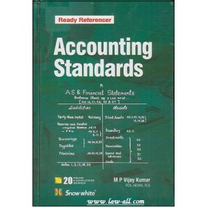 Snow White's Ready Referencer on Accounting Standards Compiled by M. P. Vijay Kumar