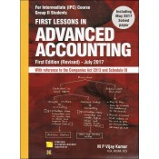 Snow White's First Lessons in Advanced Accounting for CA IPCC Group II Nov. 2017 Exam by M. P. Vijay Kumar