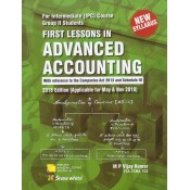 Snow White's First Lessons in Advanced Accounting for CA Intermediate [IPCC] Group II May & Nov. 2018 Exam by M. P. Vijay Kumar [New Syllabus]