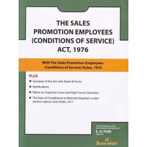 Snow White's Sales Promotion Employees (Conditions of Service) Act, 1976 Bare Act