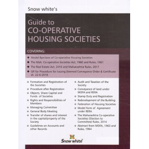 Snow White Publication's Guide to Co-operative Housing Societies