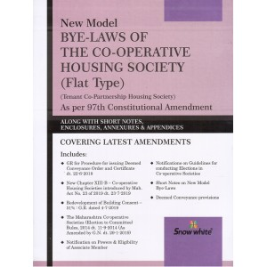 Snow White's New Model Bye-Laws of the Co-operative Housing Society (Flat Type]