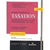 Snow White's Students Handbook on Taxation for CA Inter [IPCC] November 2020 Exam by T. N. Manoharan & G. R. Hari [Old & New Syllabus]