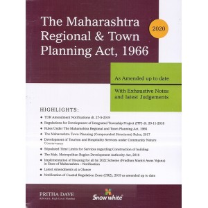 Snow White's Maharashtra Regional and Town Planning (MRTP) Act, 1966 by Adv. Pritha Dave