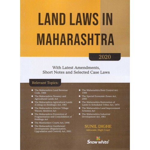 Snow White's Land Laws in Maharashtra by Adv. Sunil Dighe
