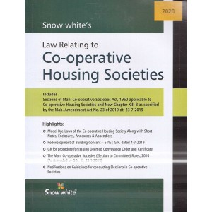 Snow White Publication's Law Relating to Co-operative Housing Societies