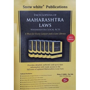 Snow White Publication's Encyclopedia of Maharashtra Laws [Maharashtra Local Acts] in 6 Volumes
