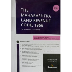 Snow White's Maharashtra Land Revenue Code, 1966 (MLRC) by Adv. Sunil Dighe