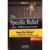 Mitra's The Specific Relief Act, 1963 [HB] by Sodhi Publication